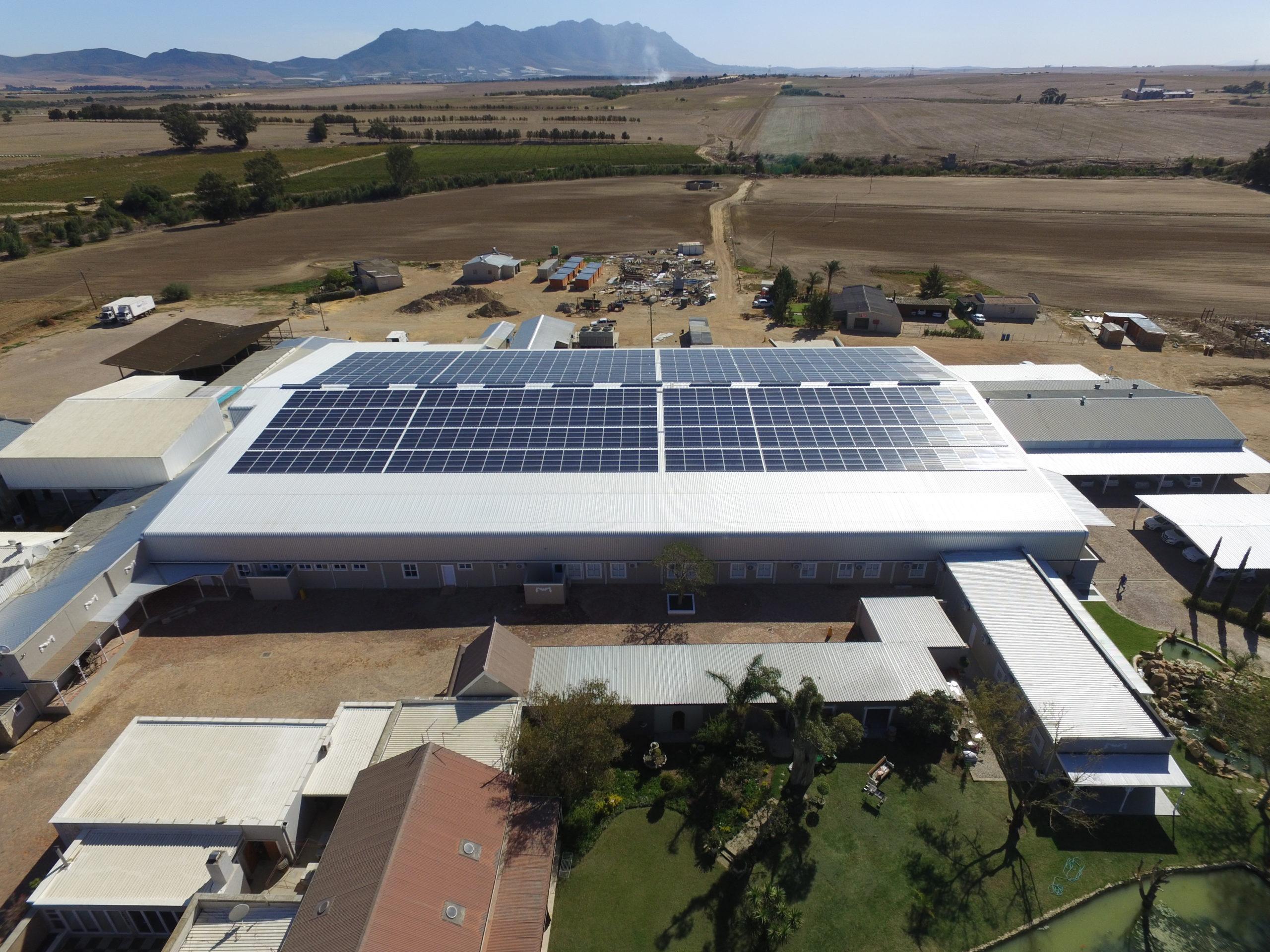 Tomis solar power initiative